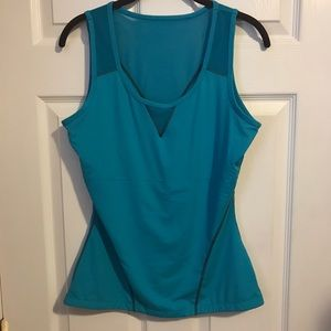 Teez Her Active Tank Teal Size Large